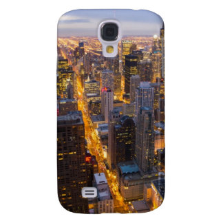 Downtown Chicago skyline at dusk Galaxy S4 Case