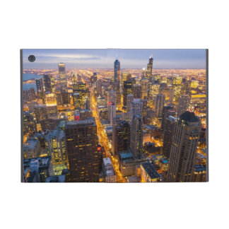 Downtown Chicago skyline at dusk iPad Mini Case