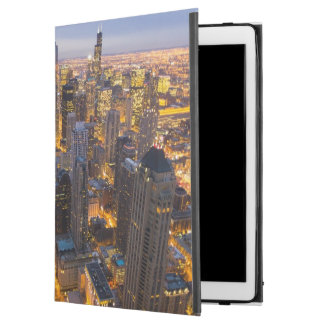 "Downtown Chicago skyline at dusk iPad Pro 12.9"" Case"