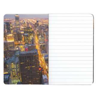 Downtown Chicago skyline at dusk Journal