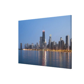 Downtown Chicago Skyline Canvas Print