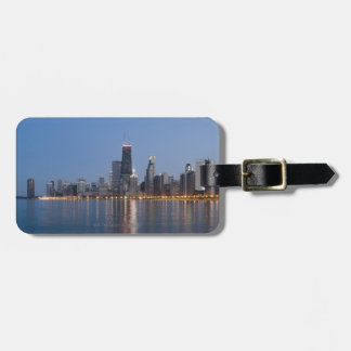 Downtown Chicago Skyline Luggage Tag