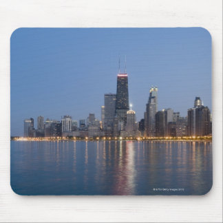 Downtown Chicago Skyline Mouse Mat
