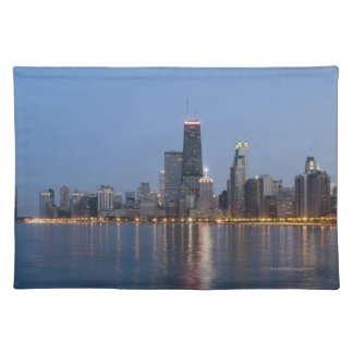 Downtown Chicago Skyline Placemat