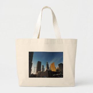 Downtown Chicago Skyscrapers Tote Bags