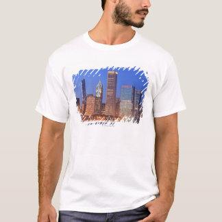 Downtown Chicago with skyscrapers including T-Shirt