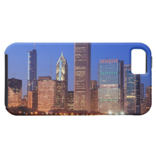 Downtown Chicago with skyscrapers including Tough iPhone 5 Case
