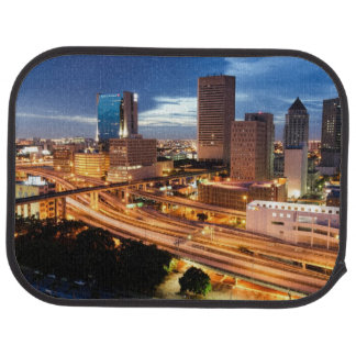 Downtown City View Car Mat