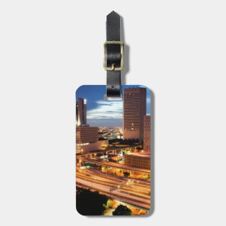 Downtown City View Luggage Tag