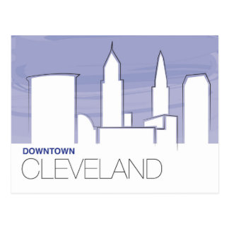 Downtown Cleveland Postcard