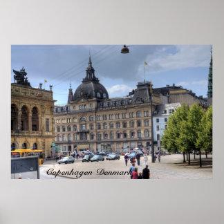 Downtown Copenhagen Posters