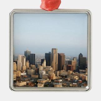 Downtown Dallas Christmas Ornament