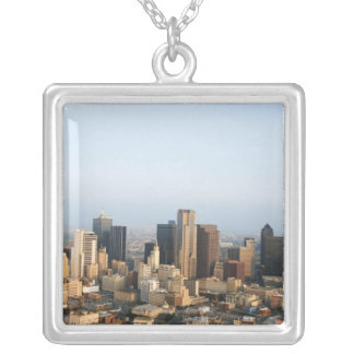 Downtown Dallas Silver Plated Necklace