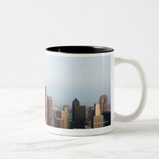 Downtown Dallas Two-Tone Coffee Mug