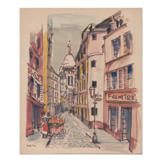 Downtown Europe Posters
