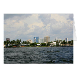 Downtown Fort Lauderdale Greeting Card