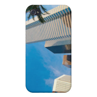 downtown high rise buildings in Houston, Texas, Covers For iPhone 4