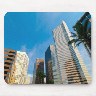downtown high rise buildings in Houston, Texas, Mouse Mat