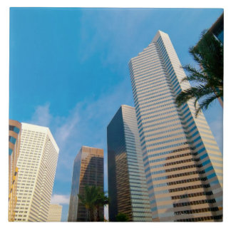 downtown high rise buildings in Houston, Texas, Tile