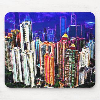 Downtown Hong Kong: China: Mouse Mat