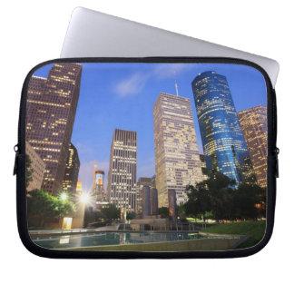 Downtown Houston, Texas Laptop Sleeve