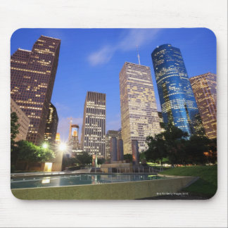Downtown Houston, Texas Mouse Mat
