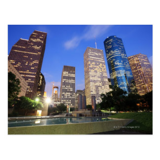 Downtown Houston, Texas Postcard
