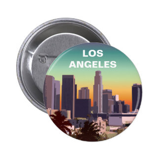 Downtown L.A. 6 Cm Round Badge
