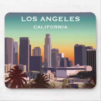 Downtown L.A. Mouse Mat