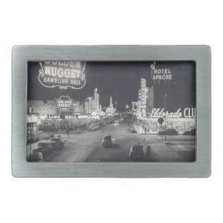 Downtown Las Vegas Retro Belt Buckle