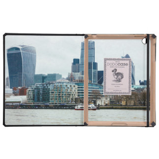 Downtown London, Blue Modern Architecture Cover For iPad