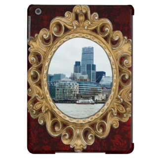 Downtown London, Blue Modern Architecture iPad Air Covers