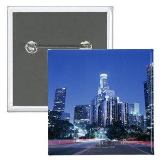 Downtown Los Angeles 15 Cm Square Badge