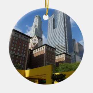 Downtown Los Angeles Christmas Ornament