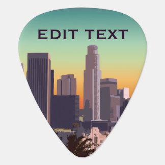 Downtown Los Angeles - Customizable Image Guitar Pick