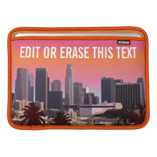 Downtown Los Angeles - Customizable Image MacBook Sleeve