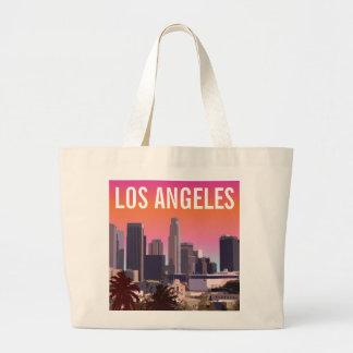 Downtown Los Angeles - Customizable Image Jumbo Tote Bag