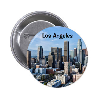 Downtown Los Angeles Daylight 6 Cm Round Badge