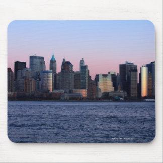 Downtown Manhattan at dusk 2 Mouse Mat