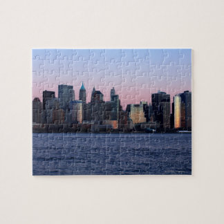 Downtown Manhattan at dusk 2 Puzzles