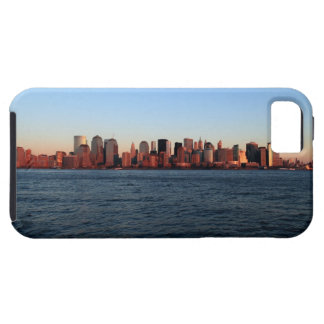 Downtown Manhattan at dusk Case For The iPhone 5