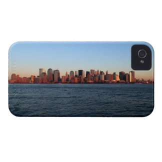 Downtown Manhattan at dusk iPhone 4 Cover