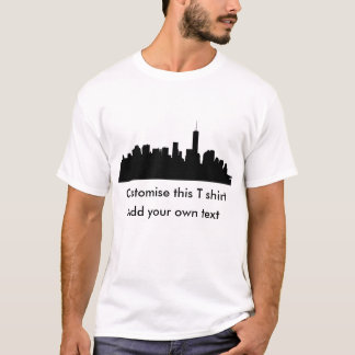 Downtown Manhattan Silhouette T-Shirt