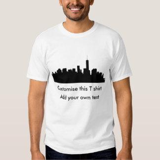 Downtown Manhattan Silhouette Tees