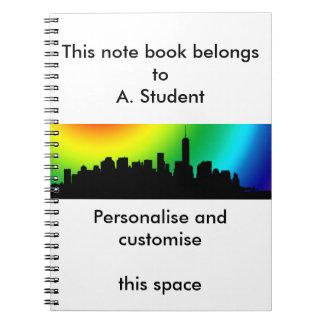 Downtown Manhattan Skyline note book
