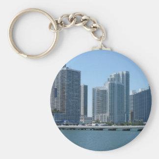 Downtown Miami Key Ring