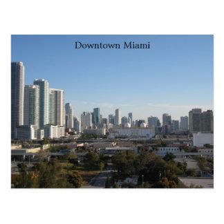 Downtown Miami Postcard