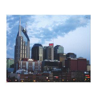 Downtown Nashville Skyline Canvas Print