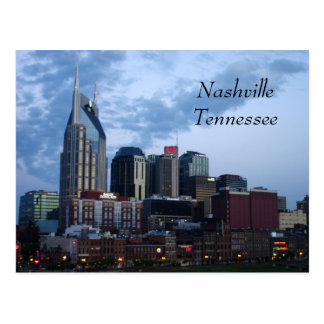 Downtown Nashville, Tennessee Postcard