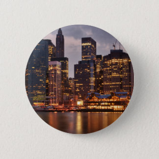 Downtown NYC 6 Cm Round Badge
